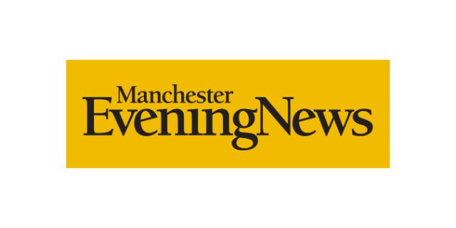 Manchester Evening News newspaper online coverage logo
