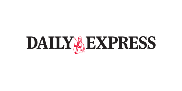 Daily Express newspaper coverage logo