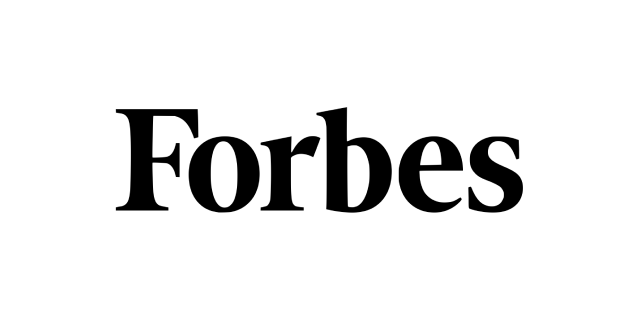 Forbes wealth magazine coverage logo